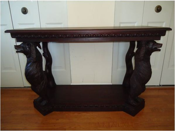 black forest sofa table photo - 4