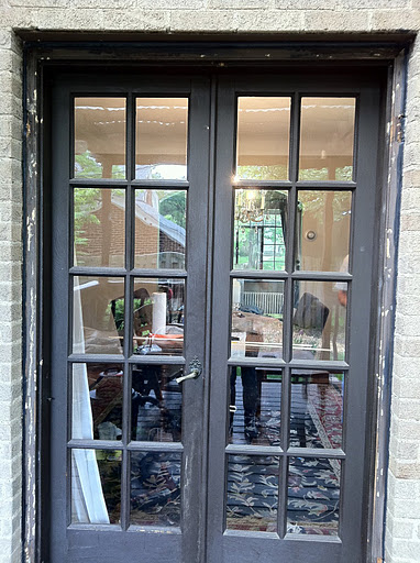 10 magnificent black french exterior doors photos for Black french doors exterior