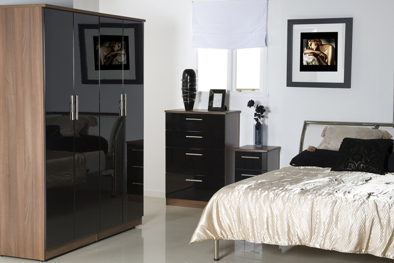 black gloss bedroom furniture ikea photo - 1