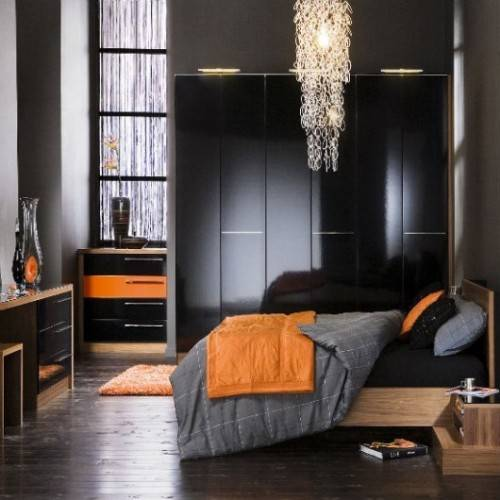 black gloss bedroom furniture ikea photo - 2