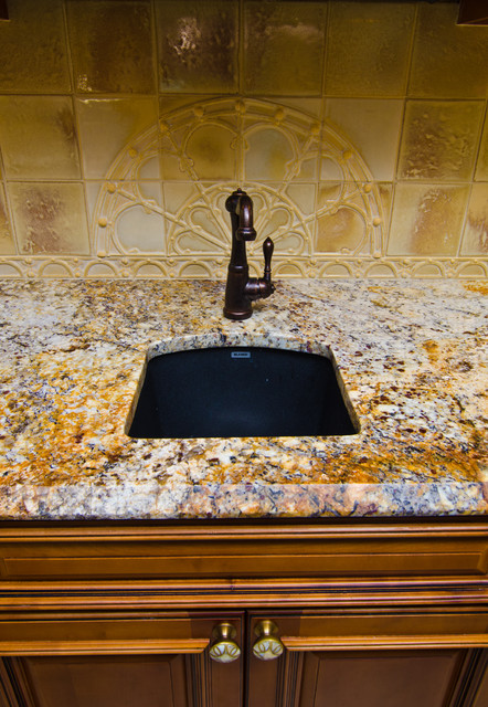 black granite bar sink photo - 4
