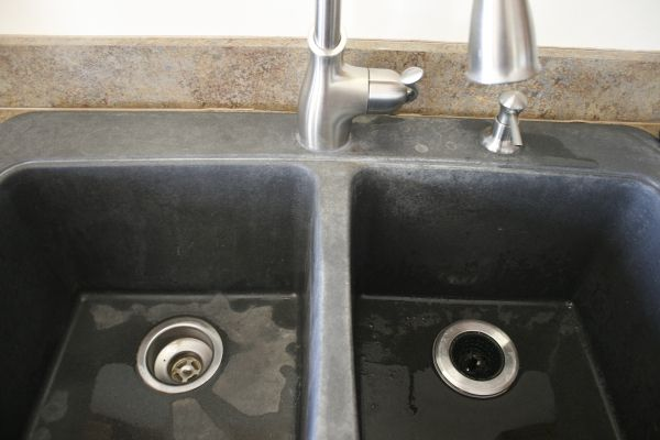High Quality Black Granite Composite Sink Cleaning