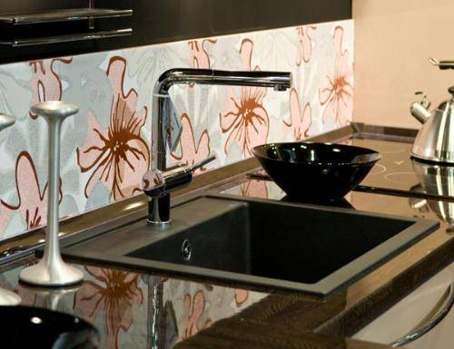 black granite sink cleaner photo - 2