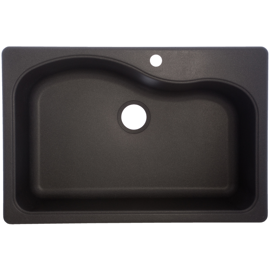 black granite sink lowes photo - 4