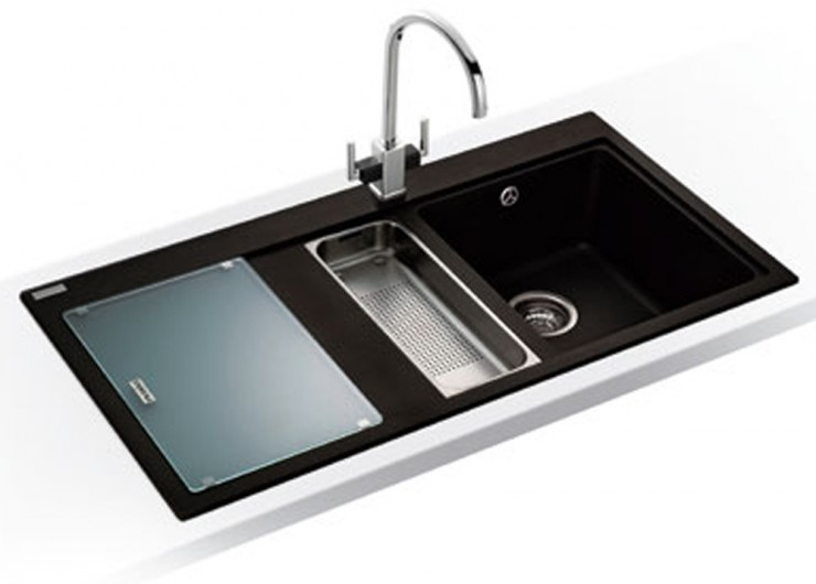 black granite sink lowes photo - 5