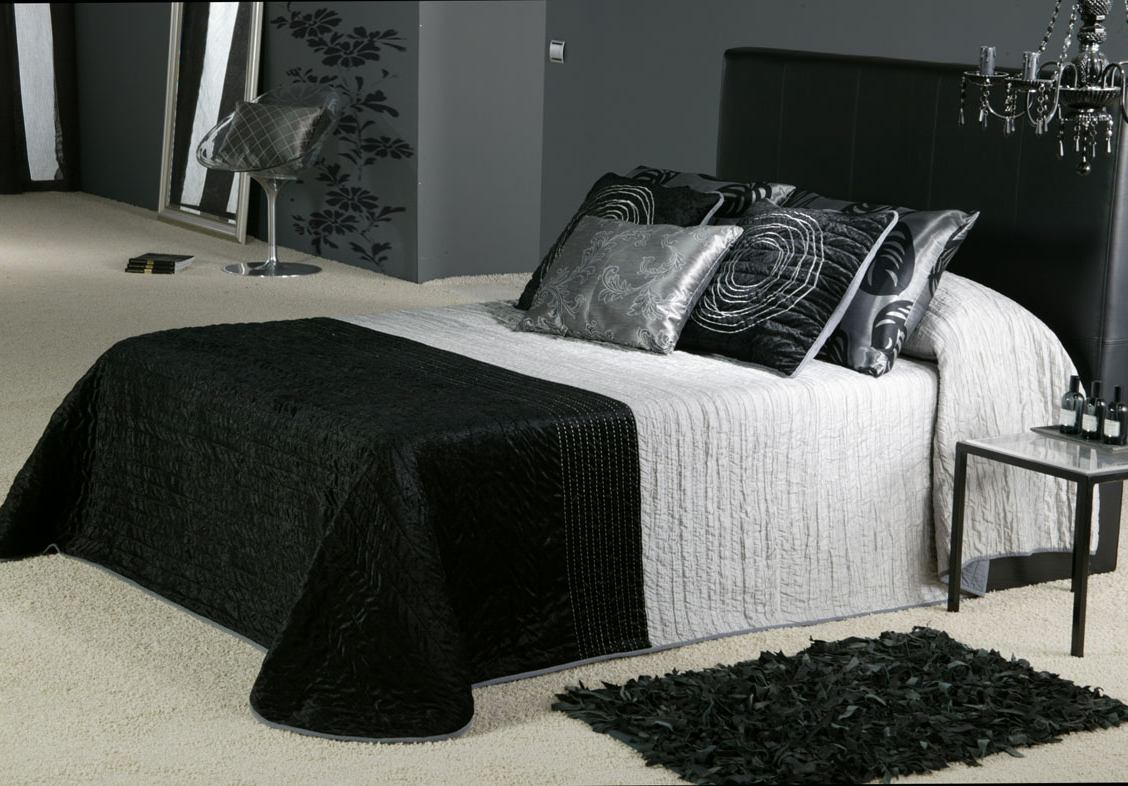 black grey bedroom decorating ideas photo - 2