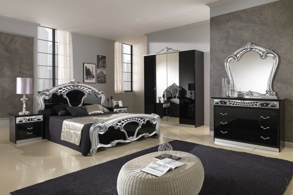 black grey bedroom decorating ideas photo - 3