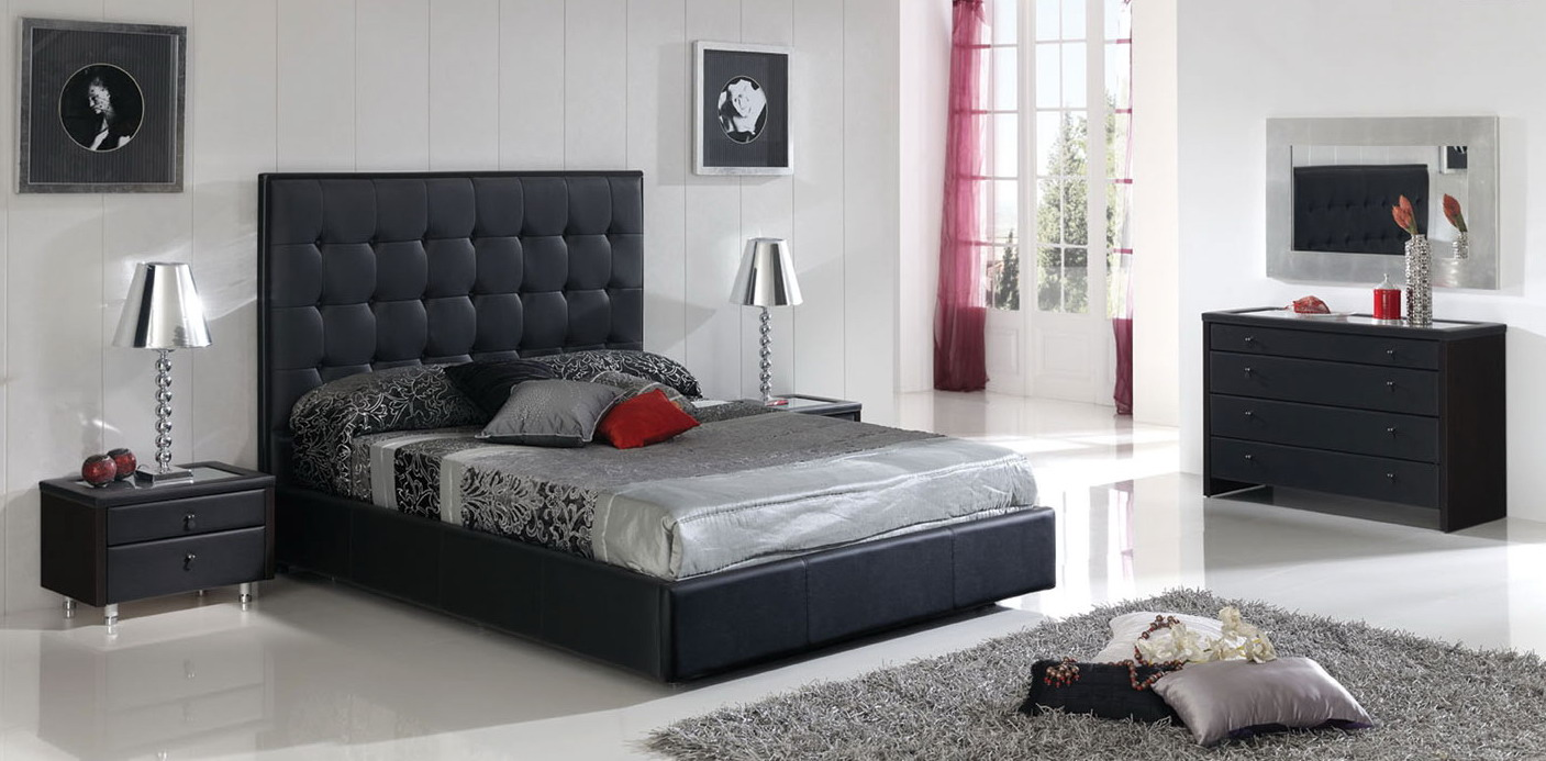 black grey bedroom decorating ideas photo - 6