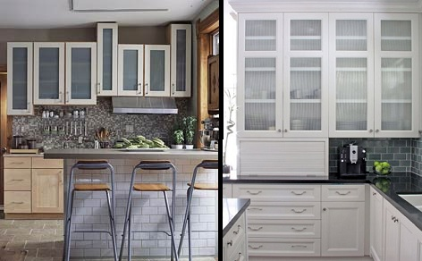 Kitchen Cupboards With Glass Doors