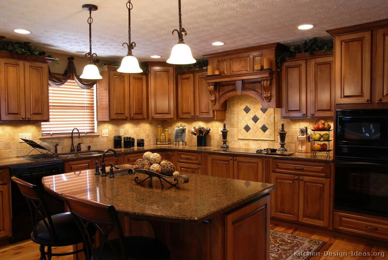 black kitchen cabinets with light countertops photo - 3