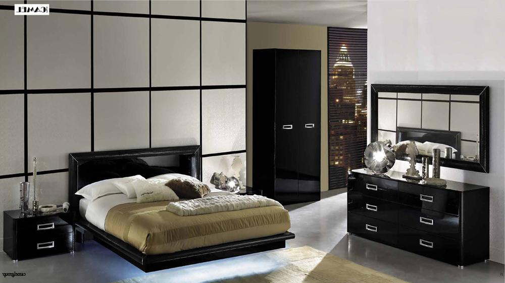 Decorate Your Bedroom With The Stylish Black Lacquer