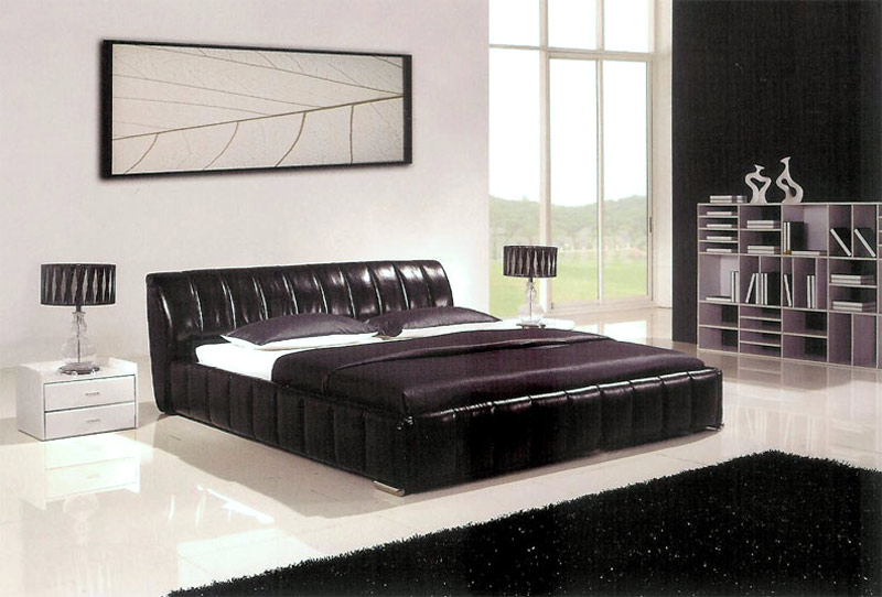 leather bedroom furniture 2