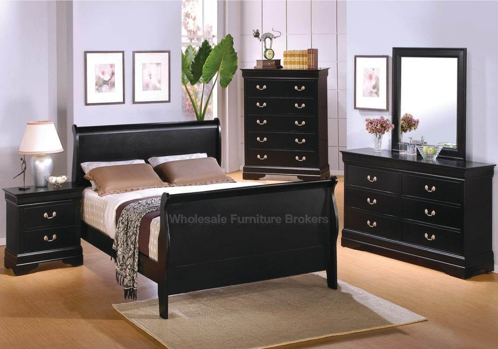 black louis bedroom furniture photo - 1
