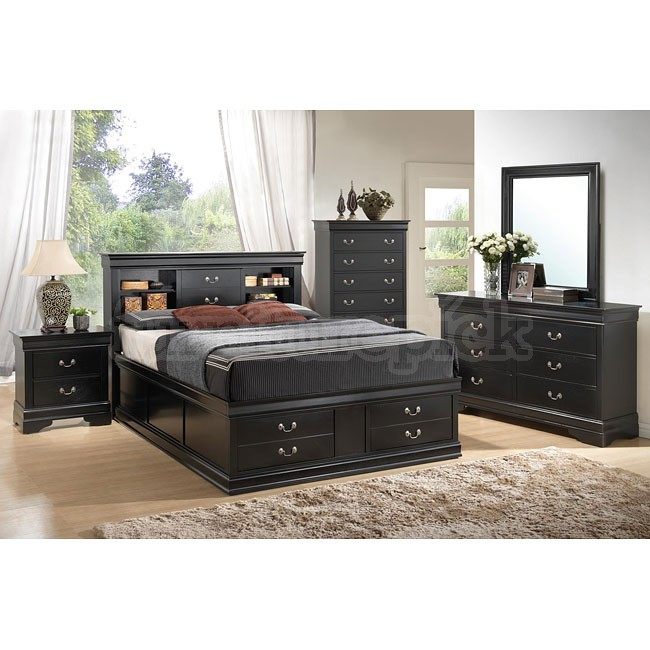black louis bedroom furniture photo - 2
