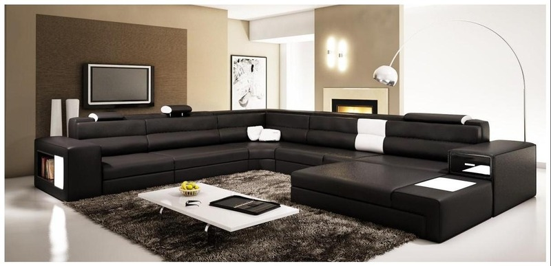 black oversized bedroom furniture photo - 6