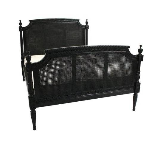 black rattan bedroom furniture photo - 3