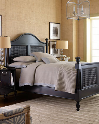 black rattan bedroom furniture photo - 4