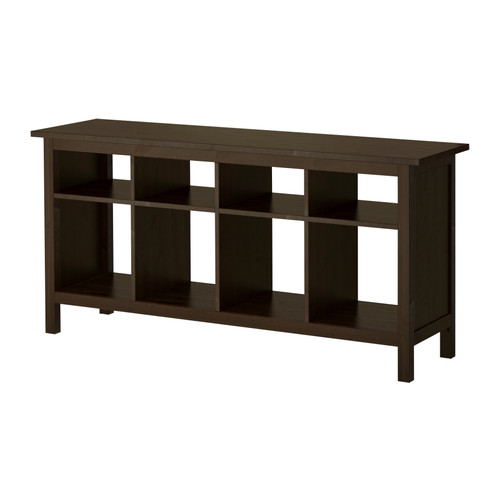 black sofa table ikea photo - 2