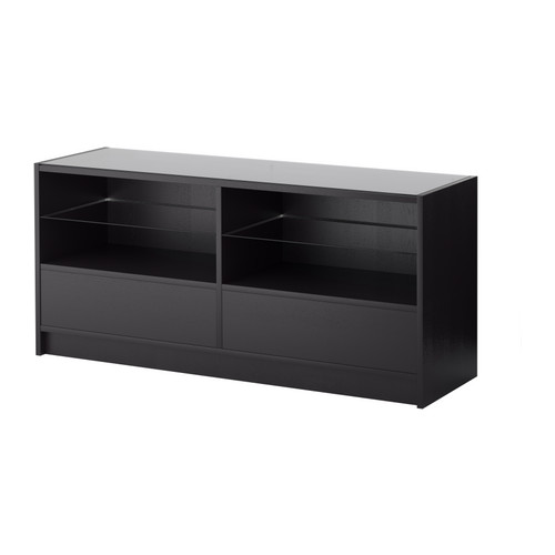 black sofa table ikea photo - 4