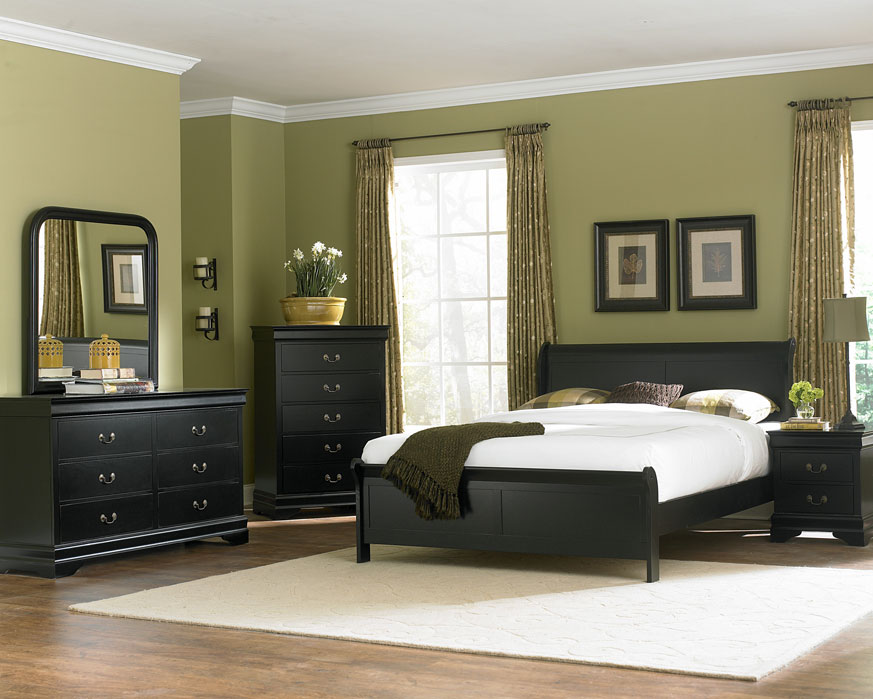 black twin bedroom furniture interior exterior doors