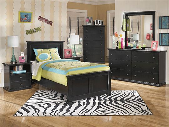 Black Twin Bedroom Furniture Sets Photo 5