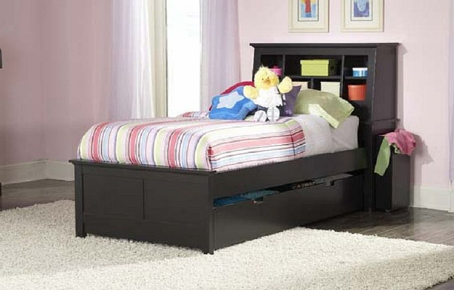 black twin beds for kids photo - 4