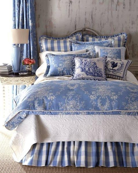 blue and white bedrooms images photo - 3