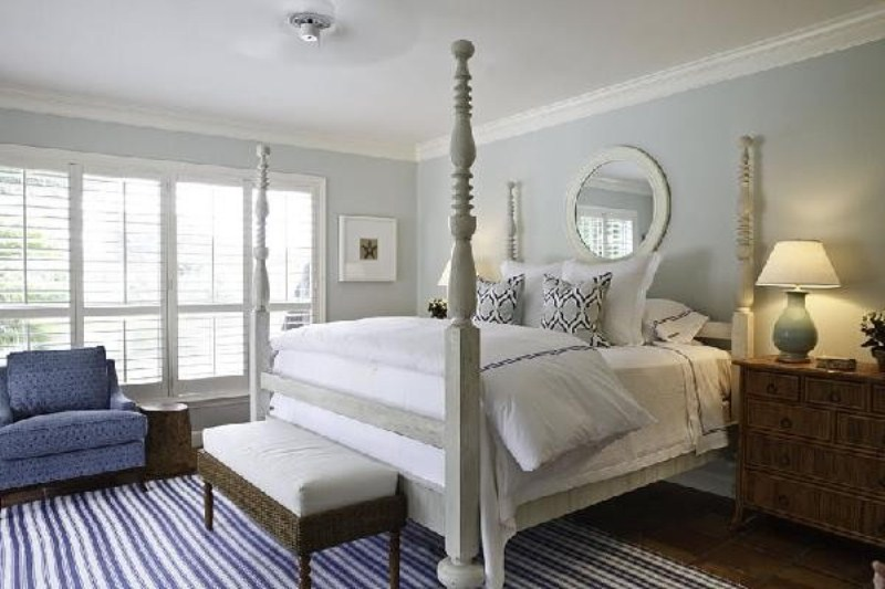 blue grey bedroom decorating ideas photo - 4