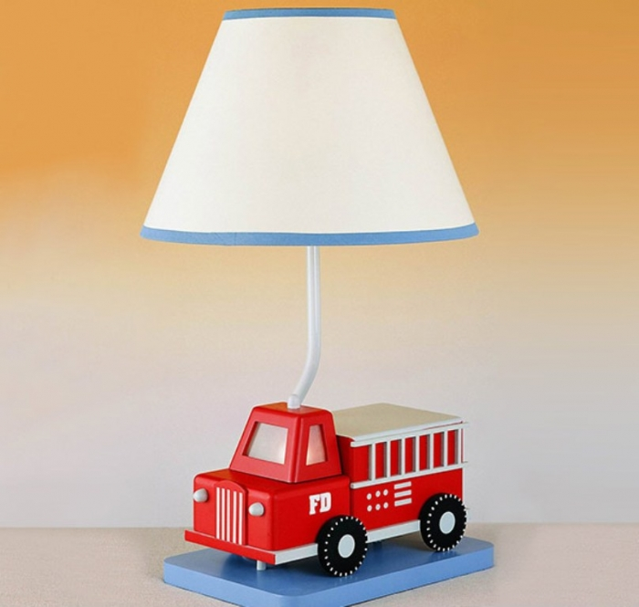 boys bedroom lamp photo - 2
