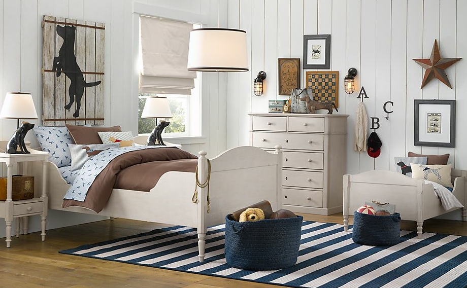 boys room with white furniture photo - 1