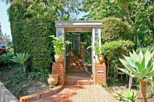 brick front entrance designs photo - 1