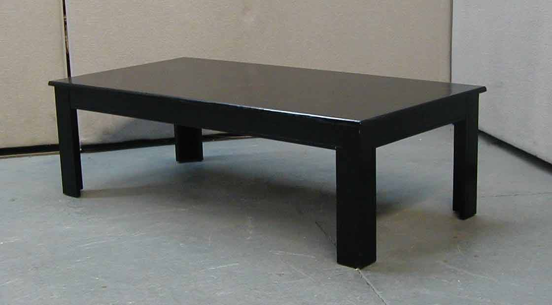 brown sofa black coffee table photo - 1