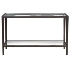bubbles black sofa table photo - 2
