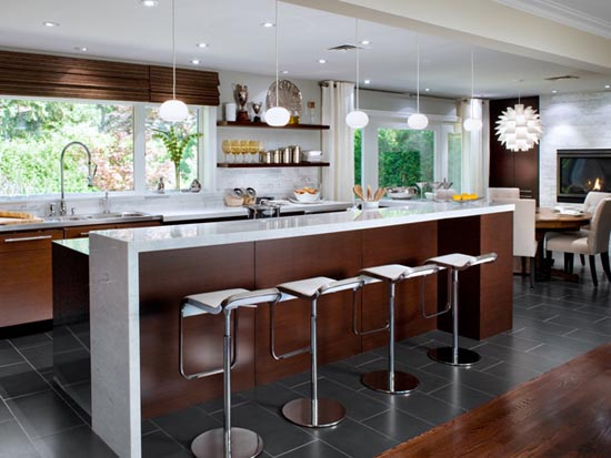 candice olson contemporary kitchen photo - 6