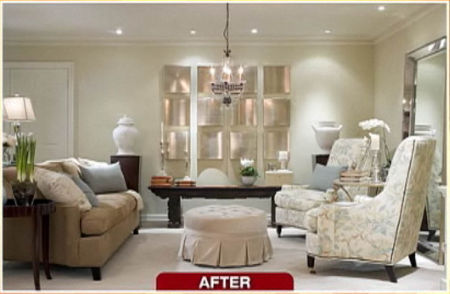 candice olson designs before and after photo - 5