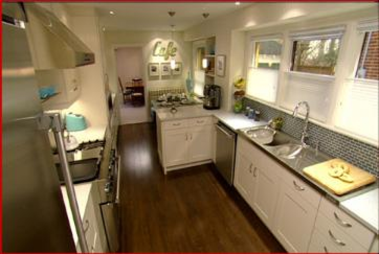 candice olson galley kitchen designs photo - 1