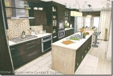candice olson kitchen drawings photo - 6