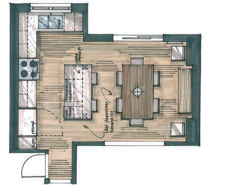 Kitchen Floor Plan candice olson kitchen floor plan | interior & exterior doors