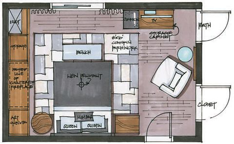 candice olson kitchen floor plan photo - 5