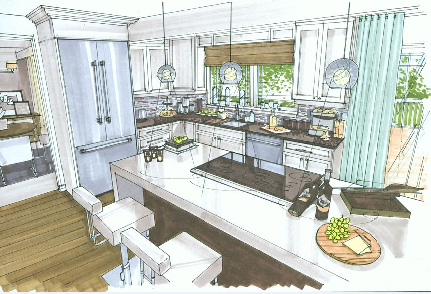 candice olson kitchen renovation photo - 2