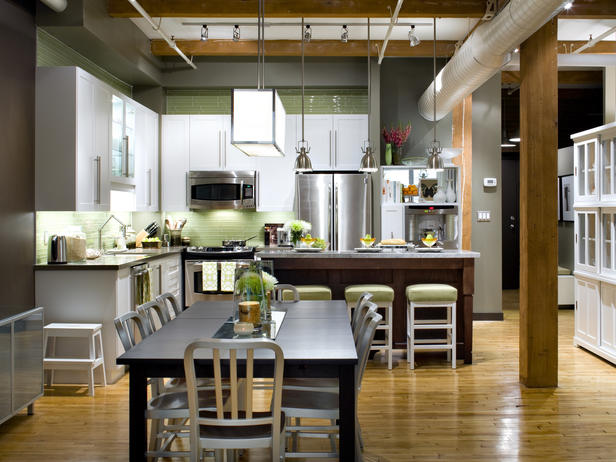 candice olson loft kitchen photo - 1