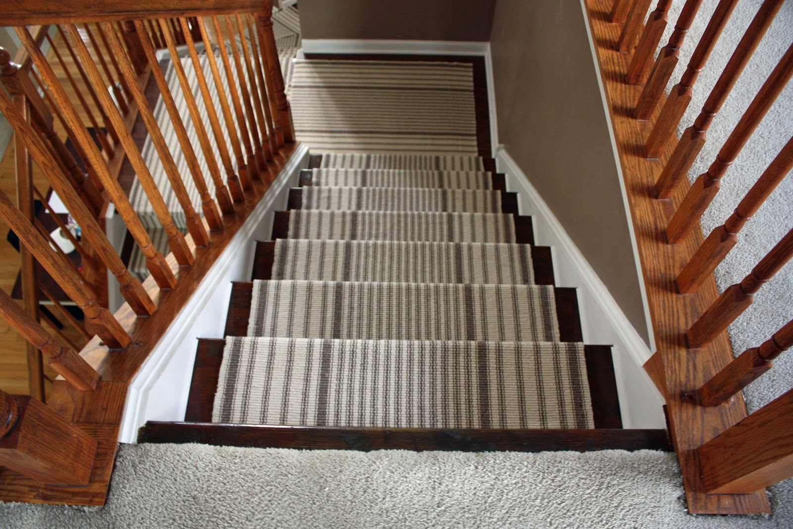 carpet runner for stairs over carpet photo - 6