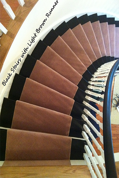 carpet runners for stairs modern photo - 6