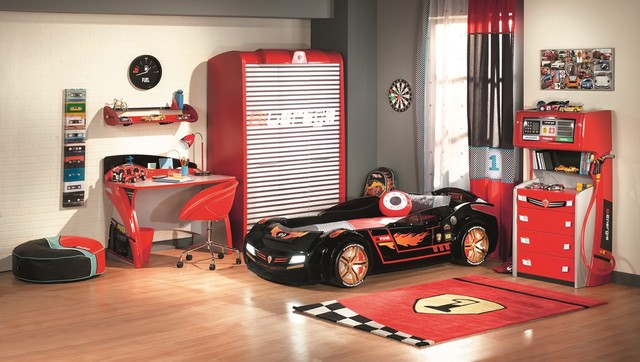 Cars bedroom furniture for kids