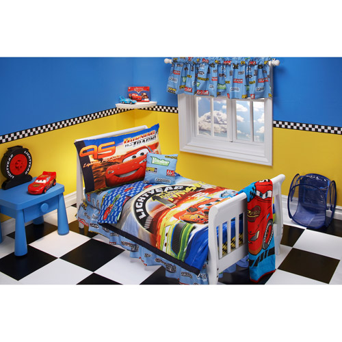 cars comforter for toddler bed photo - 2