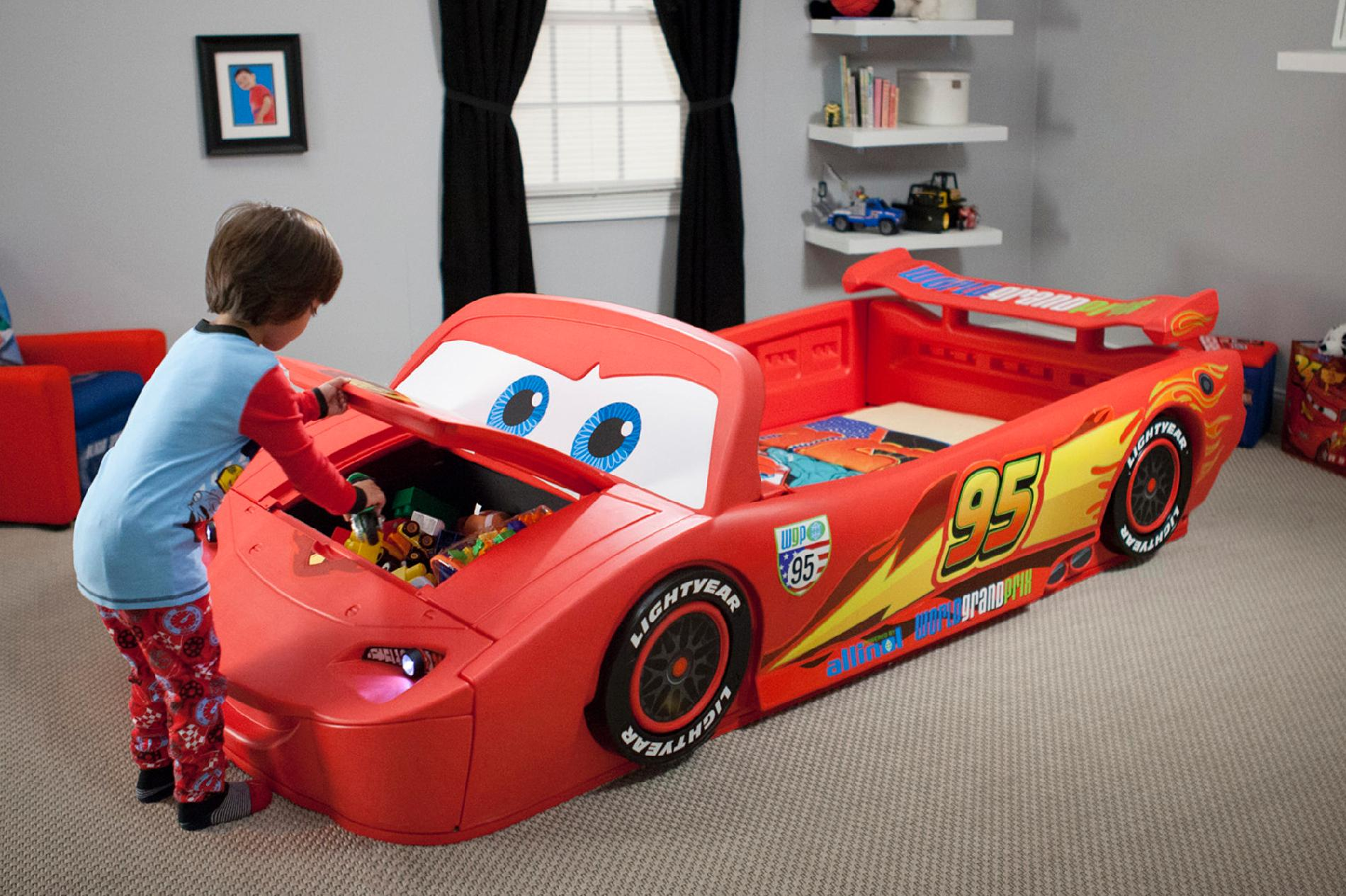 cars toddler bed sears photo - 6