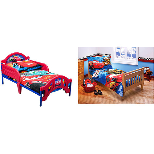 cars toddler bed set photo - 2