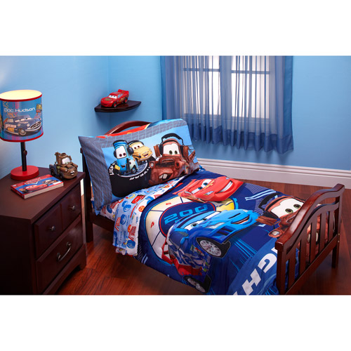 cars toddler bed set photo - 3