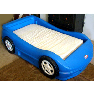 cars toddler bed skirt photo - 3