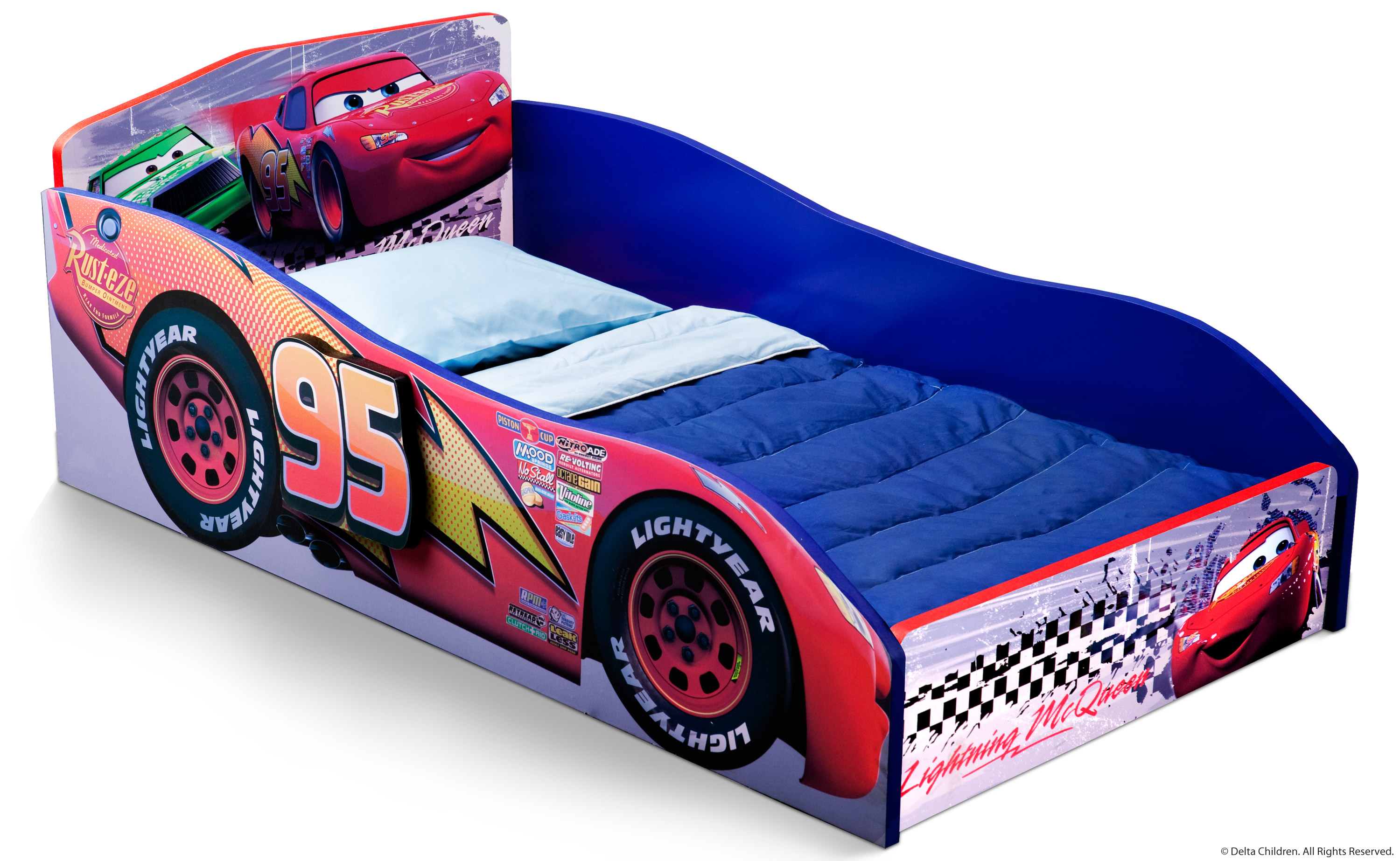 cars toddler bed wood photo - 1